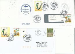 3 Lettres En Réemploi....curiosité à Voir............ - 1961-....