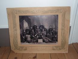 Photo Zur Erinnerung An Meine Dienstzeit. Zur Erinnerung An Die 4 Rekruten Korporalschaft 1908 1909. Soldats Allemands - War, Military