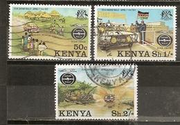 Kenya 1977 Safari Ralley Obl - Kenya (1963-...)