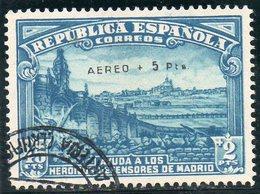 ESPAGNE 1938 O SURCH. FAUX? - 1931-Aujourd'hui: II. République - ....Juan Carlos I