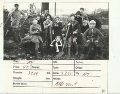 **1 X  PERSFOTO - OPRUIMACTIE    Te  BALEN-HULSEL    - 26/11/1984 - Balen