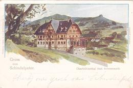 661/ Oberbühlerthal ( Bad. Schwarzwald)  Gruss Vom Schindelpeter, 1899 - Buehlertal