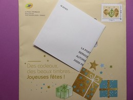Philaposte - Enveloppe Pré Timbrée Monde 250 G - Décorations De Noël - Phil@poste + Enveloppe Réponse T - Postwaardestukken