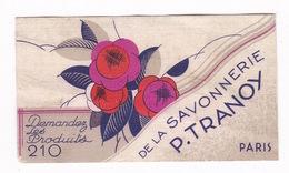 Jolie Petite Carte Agenda 1er Semestre 1934 Savonnerie P. Tranoy, Paris - Other