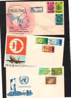 MALAISIE MALAYSIA 3 Enveloppe Cover - Malaysia (1964-...)