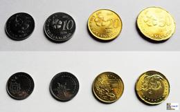 Malasia - 4 Coins - (50-20-10-5 ) SEN - Year = 2012 ---  UNC - Malasia