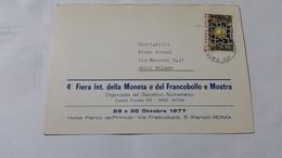 (3734) ITALIA STORIA POSTALE 1977 - 6. 1946-.. Repubblica