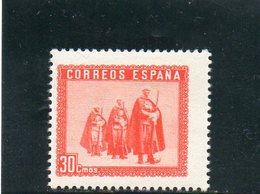 ESPAGNE 1938 * - 1931-50 Neufs