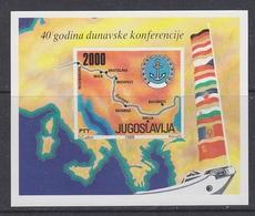Yugoslavia 1988 Danube M/s  ** Mnh (41340K) - Blokken & Velletjes