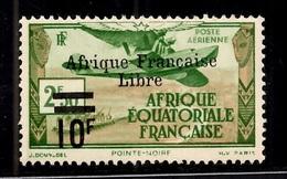 AEF France Libre Maury Poste Aérienne N° 17 Neuf *. B/TB. A Saisir! - A.E.F. (1936-1958)