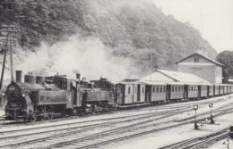 Dampflok 498.07 + 298.206 Der Ybbstalbahn In Kienberg-Gaming,ungelaufen - Trains