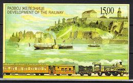 Yugoslavia,Development Of The Railway 1998.,booklet,MNH - 1992-2003 Sozialistische Republik Jugoslawien