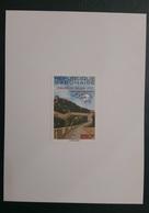 GABON 1999 UPU BEIJING CONGRESS PEKIN CHINA GREAT WALL - DELUXE PROOF EPREUVE DE LUXE CARTON - ULTRA RARE - Gabon