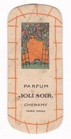 Ancienne Carte Parfumée Parfum Joli Soir, Cheramy, Paris, Années 1920 - Other