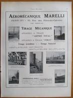 1926 - Cheminée Aéromécanique MARELLI   - Page Originale ARCHITECTURE INDUSTRIELLE - - Machines