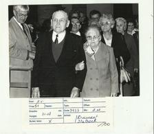 **1 X  PERSFOTO - DIAMANTEN  BRUILOFT     Te  STABROEK   - 10/08/1985 - Stabroek