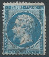 Lot N°45250  Variété/n°22, Oblit GC 3121 Revin, Ardennes (7), Ind 5, Filet SUD Doublé - 1862 Napoleone III
