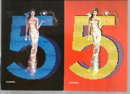 2 Cartes Postales  Chanel Douglas - Cartes Parfumées