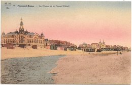 Nieuport-Bains NA54: La Digue Et Le Grand Hôtel - Nieuwpoort