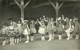 ( CARTE PHOTO  ) ( ST CREPIN  ) .( 17 CHARENTE MARITIME  ) ( ECOLES) 1931( PHOTO MALPOT SURGERES ) - Lieux