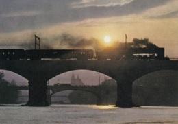 2'D1'-Lok Reihe 475.1 Der CSD,Prag-Most,auf Dem Negrelli Viadukt,franckh,ungelaufen - Trains