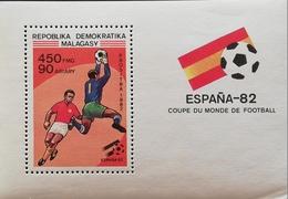 Madagascar 1982 World Cup S/S - Madagascar (1960-...)