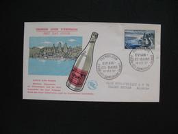 FDC 1957     N° 1131  Evian-Les-Bains    à Voir - FDC