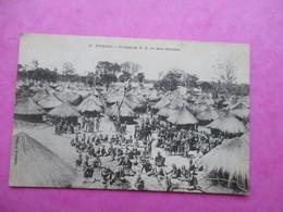 CPA MOZAMBIQUE NYASSA VILLAGE DE ND DE BON SECOURS ANIMEE - Mozambique