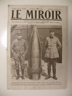 Le Miroir,la Guerre 1914-1918 - Journal N°243 - 21.7.1918 - Les Infos De La Grande Guerre Sur Tout Les Front De France - Guerre 1914-18