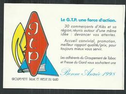 Gard. Calendrier 1998 Du Groupement Tabac Et Presse D'Alès Format C¨PM - Calendriers