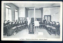 Cpa  Du 76 Le Havre Pensionnat Saint Roch Salle De Dessin  GX28 - Le Havre