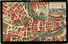Bern - Stadtplan - Map - BE Berne