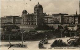 Bern - Bundespalast Mit Tram - BE Berne