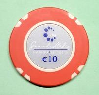TOKEN JETON SLOVENIA  ( Casino Ljubljana 10 Eur) - Casino