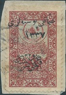 "Turchia Turkey Ottomano Ottoman1921 Hejaz Railway Tax Revenue Stamps Overprinted""osmanli Postalar""and Year""1337,used - 1858-1921 Ottoman Empire"