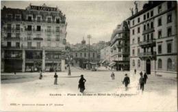 Geneve - Place Du Rhone - GE Genève