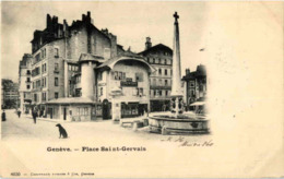 Geneve - Place Du St. Gervais - GE Geneva
