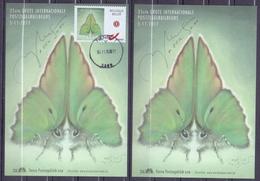 Belgie - 2017 - OBP - ** 35 Ste Grote Internationale Postzegelbeurs - 5 - 11 - 2017 - Tienen - M.Meersman ** Vlinder - Maximum Cards