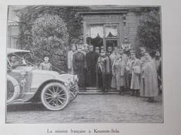 1913  Organisation Automobile  RENAULT  Armée Russe Russie   MISSION KRASNOIE-SELO    Billancourt - Sin Clasificación