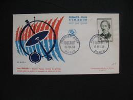 FDC 1958     N° 1148  Léon Foucault     à Voir - 1950-1959