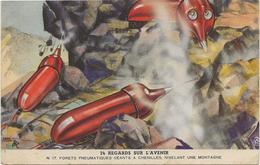 CARTE PUBLICITAIRE BYRRH -N° 24 -REGARD SUR L'AVENIR - Publicité