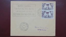 Vietnam Enveloppe Commémorative 1ere Assemblée Nationale Du Vietnam 3 Mars 1946 - Viêt-Nam