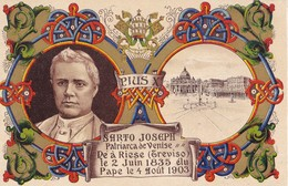 PIUS X - Sarto Joseph - Papas