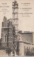 GRIVESNES: Eglise - Sapine (échafaudage) De 36 Mètres De Haut - Autres Communes