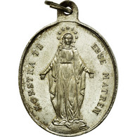 France, Médaille, Congrégation Des Enfants De Marie, TTB+, Silvered Bronze - France