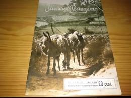 Revista Portuguesa, Magazine Portuguese- Ilustração Portuguesa, Capa O Moleiro (Vila Chã-Beira Alta  - 1920 - Revues & Journaux
