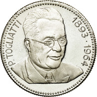Italie, Médaille, Les Leaders Communistes, Togliatti, SPL, Cuivre Plaqué - Italie