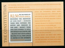 South Africa 2011 Honouring The Constitution MS MNH (SG MS1887) - South Africa (1961-...)