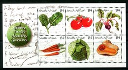 South Africa 2011 Green Earth, Healthy Garden MS MNH (SG MS1903) - South Africa (1961-...)