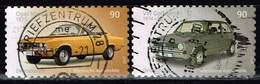 Bund 2017, Michel# 3301 - 3302 O Opel Manta Und VW Golf, Selbstklebend, Self-adhesive - [7] Federal Republic